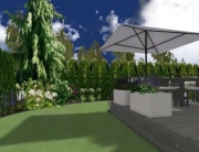 Projekt ogrodu w Katowicach