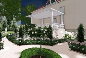 Projekt ogrodu klasycznego w Bielsku-Białej