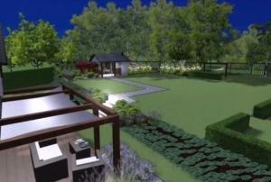 Projekt ogrodu w Zielonkach